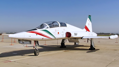 3-7021 - Northrop F-5B Freedom Fighter - Iran - Air Force