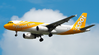 A picture of 9VTAN - Airbus A320232 - Scoot - © Sleepi