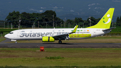 A picture of JA812X - Boeing 73786N - Solaseed Air - © Taiki Oba