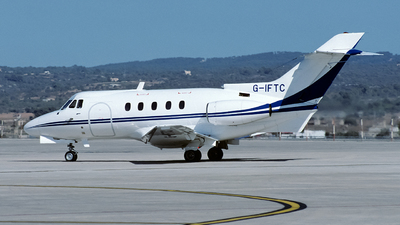 G-IFTC - Hawker Siddeley HS-125-3B - Private
