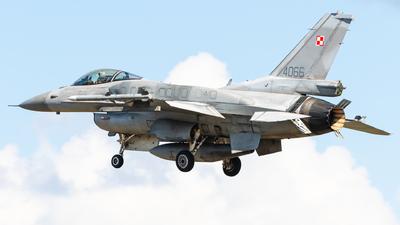 4066 - Lockheed Martin F-16C Fighting Falcon - Poland - Air Force