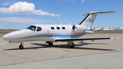 N178SF - Cessna 510 Citation Mustang - Private