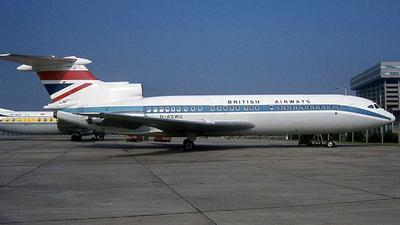 G-ASWU - Hawker Siddeley HS-121 Trident 1 - British Airways