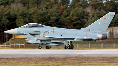 31-37 - Eurofighter Typhoon EF2000 - Germany - Air Force