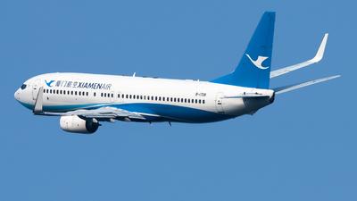 A picture of B1708 - Boeing 73785C - Xiamen Air - © Lazy Clutch
