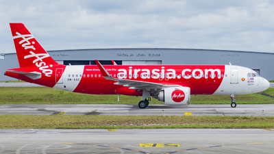 A picture of 9MAGE - Airbus A320251N - AirAsia - © Nigel Shim