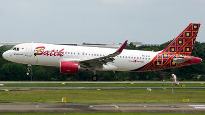 PK-LUZ - Airbus A320-214 - Batik Air