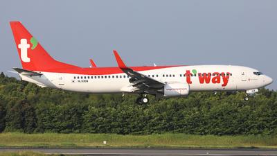 HL8306 - Boeing 737-8AS - T'Way Air