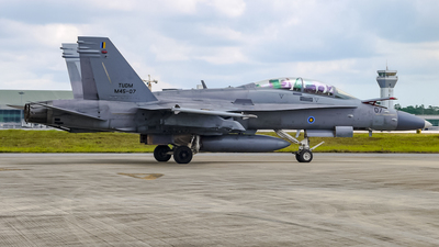 M45-07 - McDonnell Douglas F/A-18D Hornet - Malaysia - Air Force