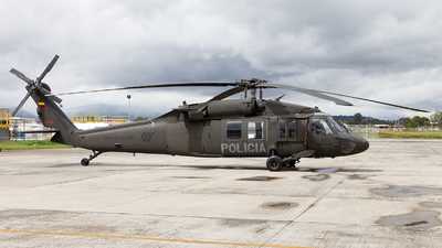 PNC-0613 - Sikorsky UH-60A Blackhawk - Colombia - Police