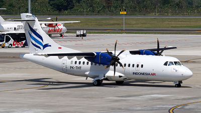 PK-THT - ATR 42-500 - Indonesia Air Transport (IAT)