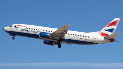 G-DOCX - Boeing 737-436 - British Airways