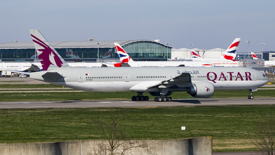 A7-BAO - Boeing 777-3DZER - Qatar Airways