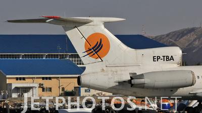 EP-TBA - Tupolev Tu-154M - Taban Air