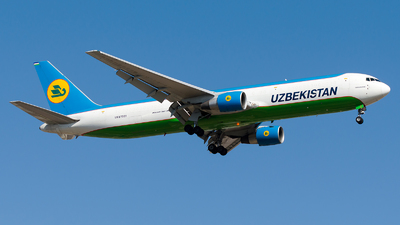 UK-67001 - Boeing 767-33P(ER)(BCF) - Uzbekistan Airways Cargo