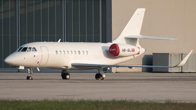 HB-IBJ - Dassault Falcon 2000LXS - Private