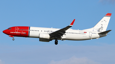 A picture of SERRC - Boeing 7378JP - Norwegian - © Dave Potter