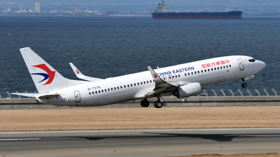 B-7376 - Boeing 737-89P - China Eastern Airlines