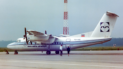 YU-AIE - De Havilland Canada DHC-7-102 Dash 7 - Inex-Adria Airways