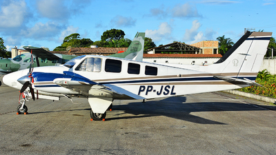 PP-JSL - Beechcraft G58 Baron - Private