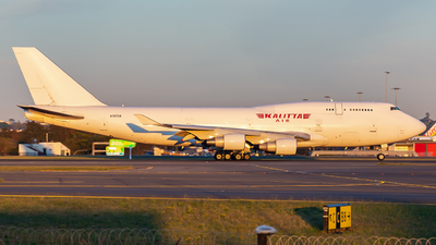 A picture of N707CK - Boeing 7474B5(BCF) - Kalitta Air - © John Zhao