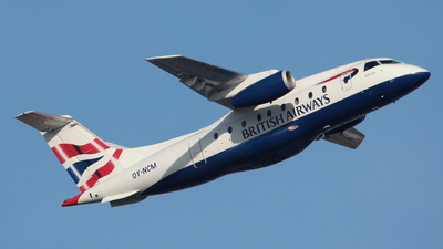OY-NCM - Dornier Do-328-300 Jet - British Airways (Sun-Air)