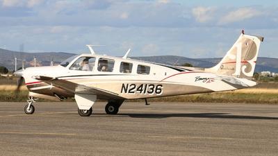 A picture of N24136 - Beech A36 Bonanza - [E1233] - © Dominique