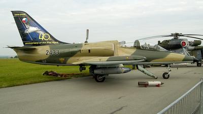 2433 - Aero L-39ZA Albatros - Czech Republic - Air Force