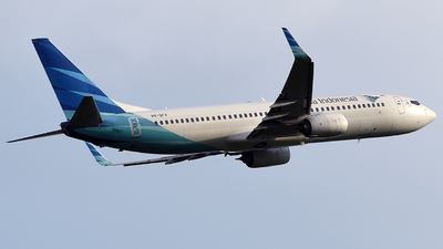 PK-GFV - Boeing 737-8U3 - Garuda Indonesia