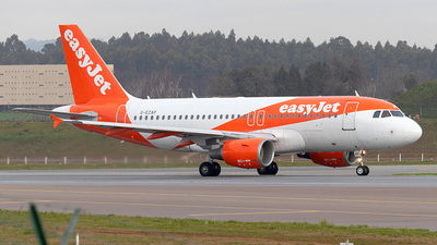 A picture of GEZAP - Airbus A319111 - easyJet - © Pedro Costa