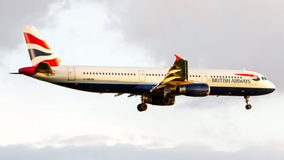 G-MEDM - Airbus A321-231 - British Airways