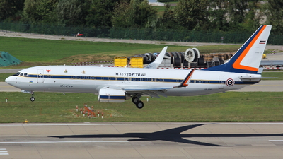 HS-MVS - Boeing 737-8Z6(BBJ2) - Thailand - Royal Thai Air Force