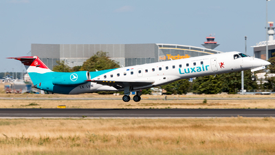 LX-LGW - Embraer ERJ-145LU - Luxair - Luxembourg Airlines