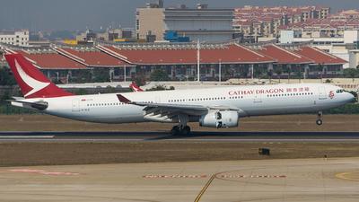 B-HLE - Airbus A330-342 - Cathay Dragon