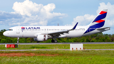 A picture of PRTYH - Airbus A320214 - LATAM Airlines - © Alessandro Iglesias