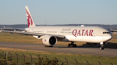 A7-BAH - Boeing 777-3DZER - Qatar Airways