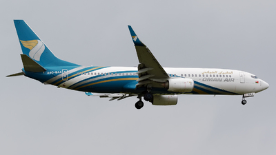 A picture of A4OBAA - Boeing 73781M - Oman Air - © Dejan Milinkovic