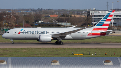 A picture of N808AN - Boeing 7878 Dreamliner - American Airlines - © Airlinergeek