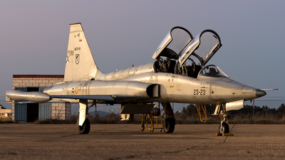 AE.9-01 - CASA SF-5B(M) Freedom Fighter - Spain - Air Force