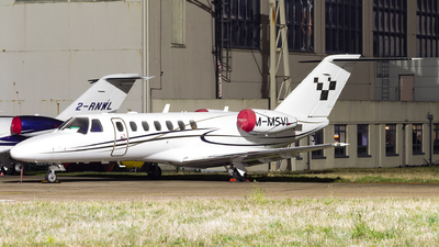 M-MSVI - Cessna 525B CitationJet 3 - Private