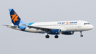 4X-ABF - Airbus A320-232 - Israir