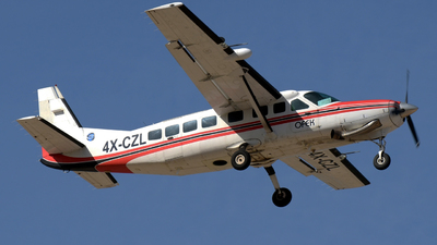 A picture of 4XCZL - Cessna 208B Grand Caravan - [208B0810] - © meir feder
