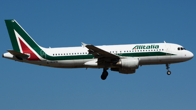 A picture of EIDTM - Airbus A320216 - Italia Trasporto Aereo - © Nicholas Carmassi - RomeAviationSpotters