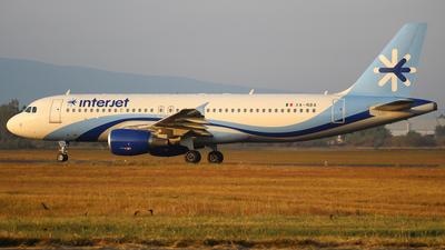 XA-NBA - Airbus A320-214 - Interjet