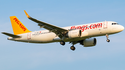 A picture of TCNBP - Airbus A320251N - Pegasus Airlines - © Finnographie