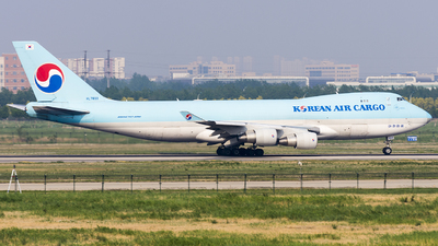 HL7603 - Boeing 747-4B5ERF - Korean Air Cargo