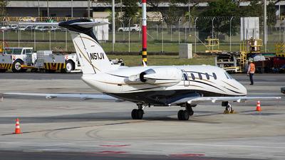 Cessna Citation III aircraft round sticker