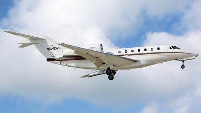 A picture of N916QS - Cessna 750 Citation X - NetJets - © Kaz T