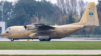 473 - Lockheed C-130H Hercules - Saudi Arabia - Air Force