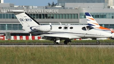 OK-MYS - Cessna 510 Citation Mustang - Aeropartner